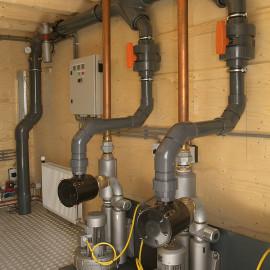 Werktuigkundige installaties - vuilwater pompen